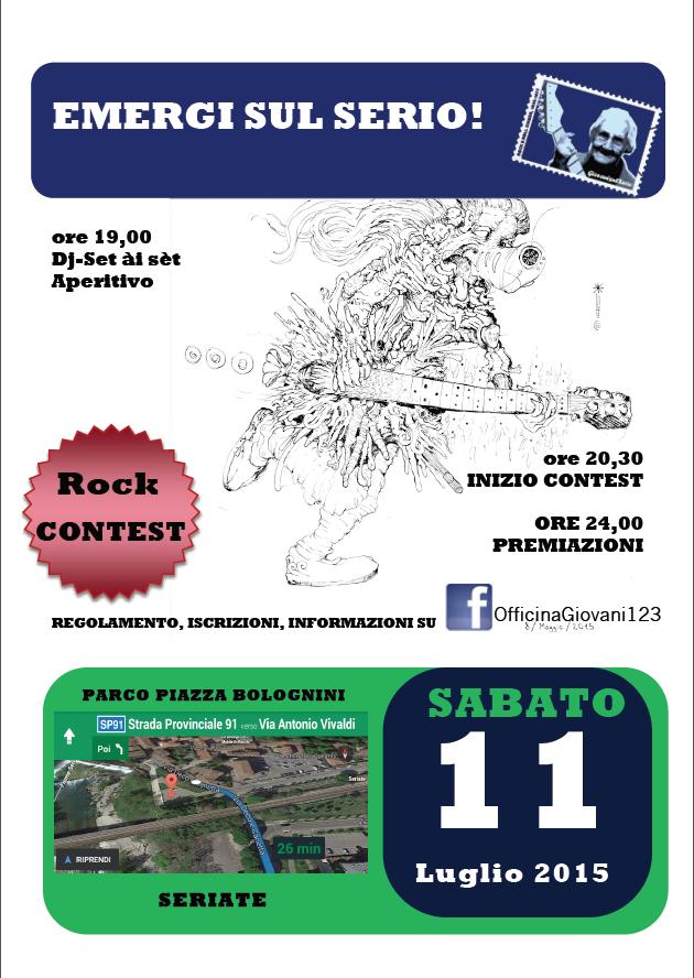 Emergi sul Serio - Locandina 2015