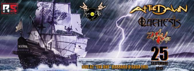 The One - Cassano d'Adda MI - Banner 25-09-2015