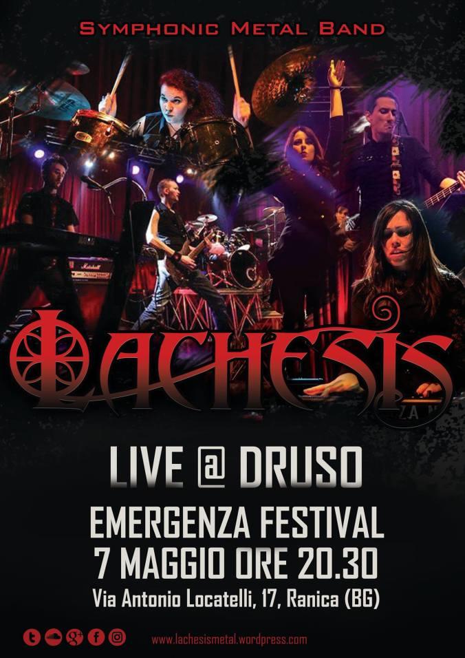 LACHESIS Symphonic Metal - Live Druso - Ranica BG