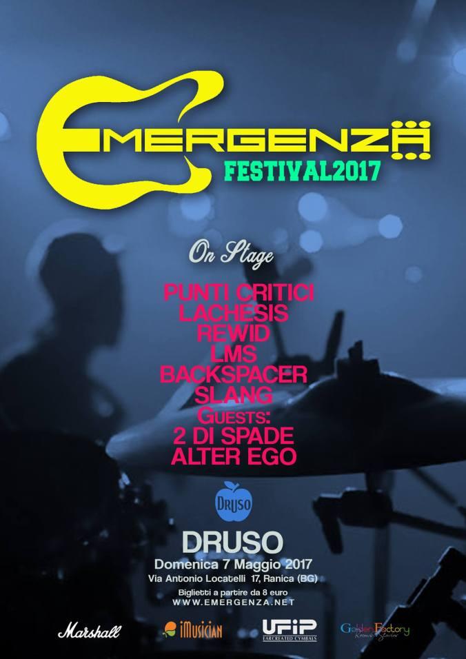 LACHESIS Symphonic Metal - Live Druso - Bergamo Lombardia Italia - Locandina ufficiale