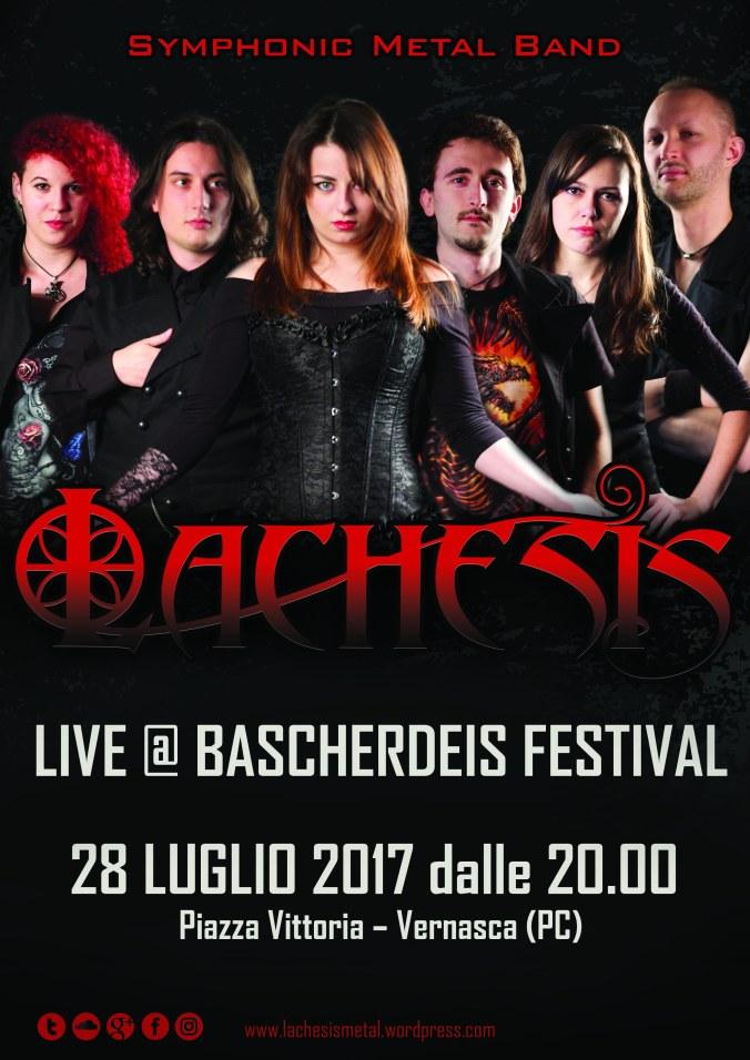 LACHESIS Symphonic Metal - Bascherdeis 2017 Locandina