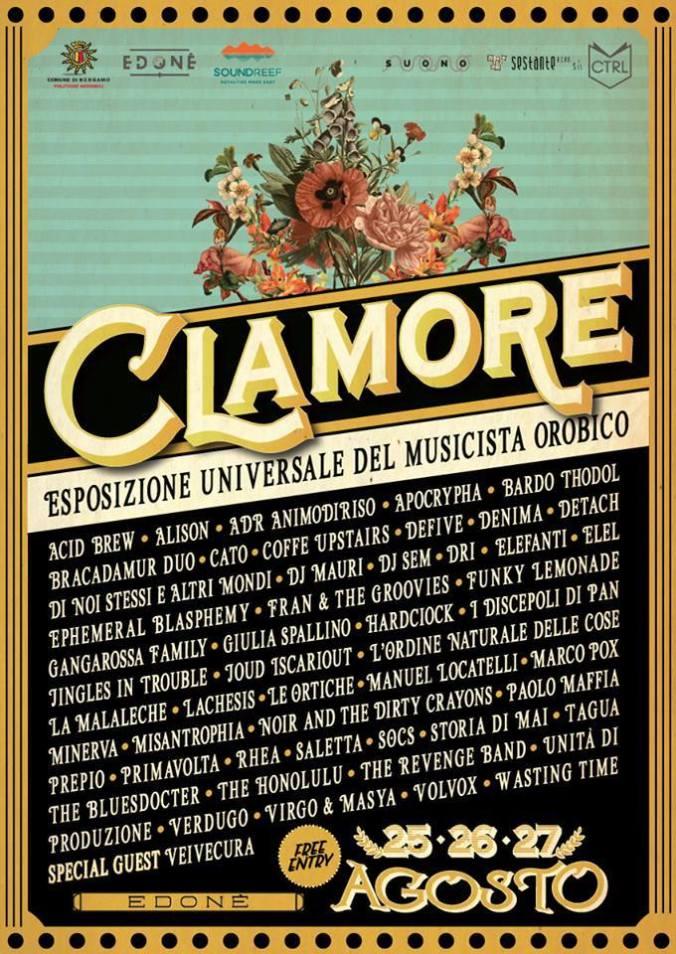 CLAMORE Elenco band