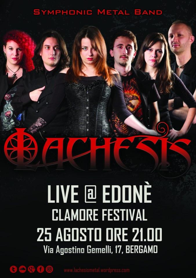 LACHESIS Symphonic Metal - Clamore Festival 2017