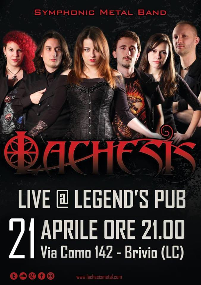 Locandina 2018-04-21 Legned's Pub Brivio