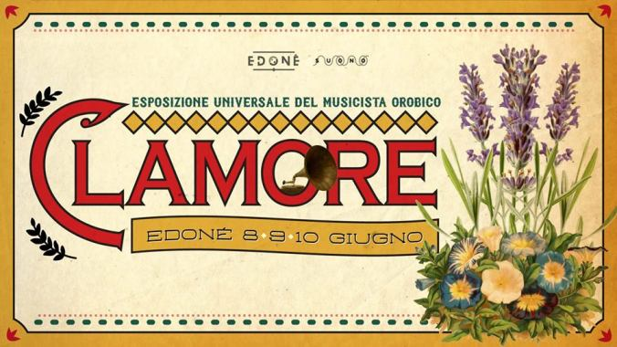 Clamore 2018 banner
