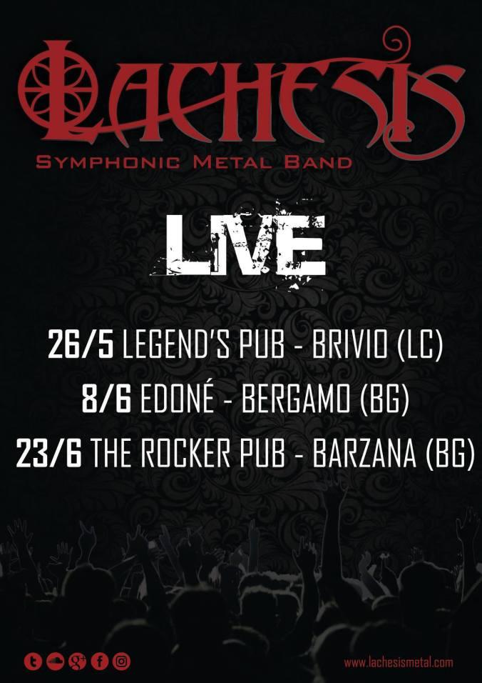 Locandina 3 Live 2018