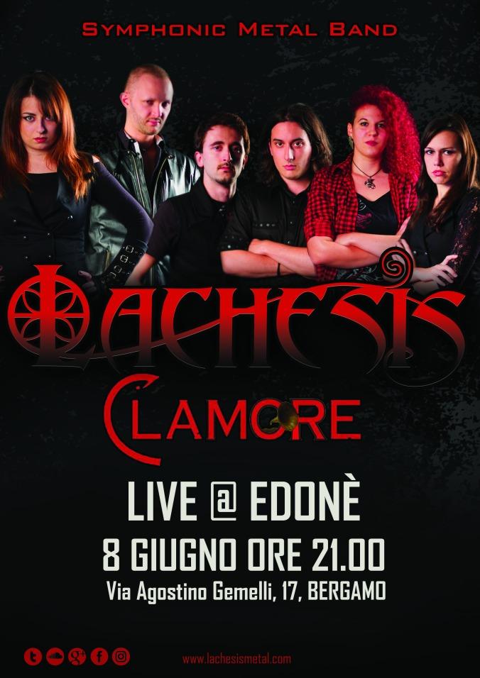 Locandina Clamore 2018-06-08